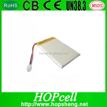 3.7V 4000mAh Lithium ion polymer battery 805085 with pcm and wire