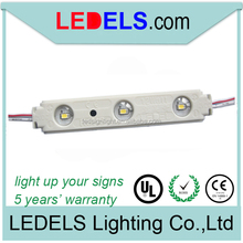 SMD 2835 DC12V LED lighting UL listed :E468389 for box letter 0.72w with lens and 5 years warranty