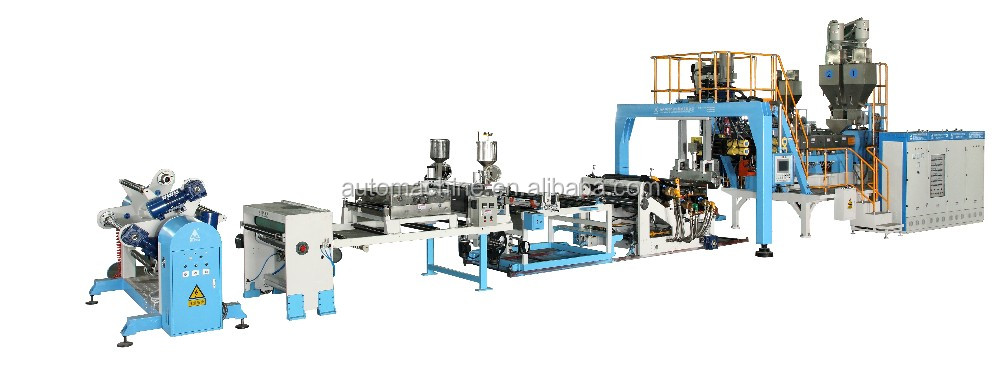 Twin screw PET extrusion machine plastic extruder machine sale