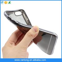 For iphone 6 case electroplated mirror phone cover with many available models