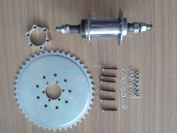 Hub and installation kit 6 hole