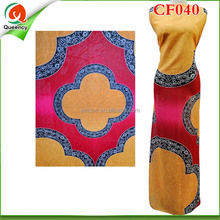 CF040 Fashion Printed Silk Chiffon Fabric New Pattern High Quality African Fabric