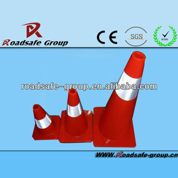 RSG High reflective Retractable safety reflective traffic cone
