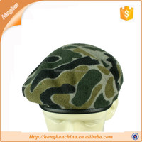 Military hat patterns camo beret