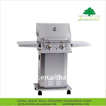 2-Burner Stainless Steel Gas Grill