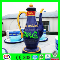 High class theme park rides China indoor outdoor games pictures with coffee cup