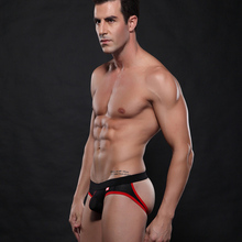 Erotic Mens <strong>Underwear</strong> Sexy Mens Jockstrap Mesh Thongs Comfortable Low Waist Enhance Pouch Sexy <strong>Underwear</strong> SW4003-SD