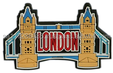 3D London bridge magnet custom pvc magnet