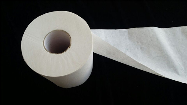 Sheet size 10*10cm customized white toilet paper roll