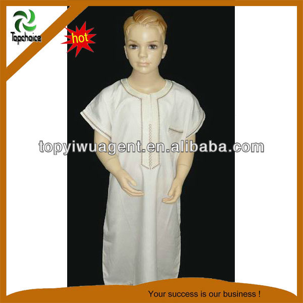 Muslim kids robes islamic Abaya baju