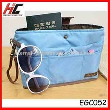 2012 Hot selling nylon bag in bag, organizer bag EGC052