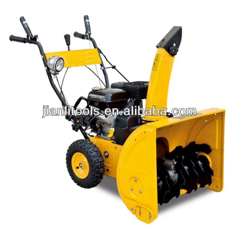 2014 New model gasoline snow thrower 6.5hp