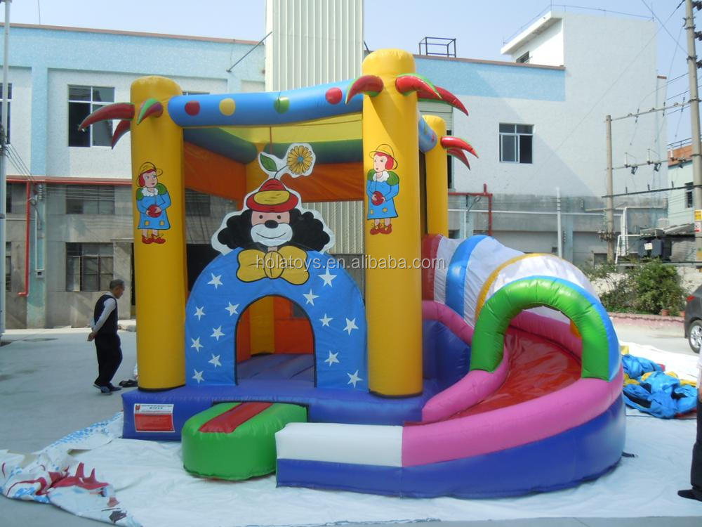 Hola inflatable bouncer/bouncy castle/jumping castle for kids