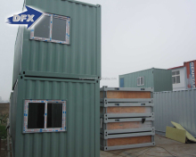customized 40ft welded shipping container house