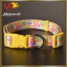 Custom adjustable plastic buckle for webbing for pet collar