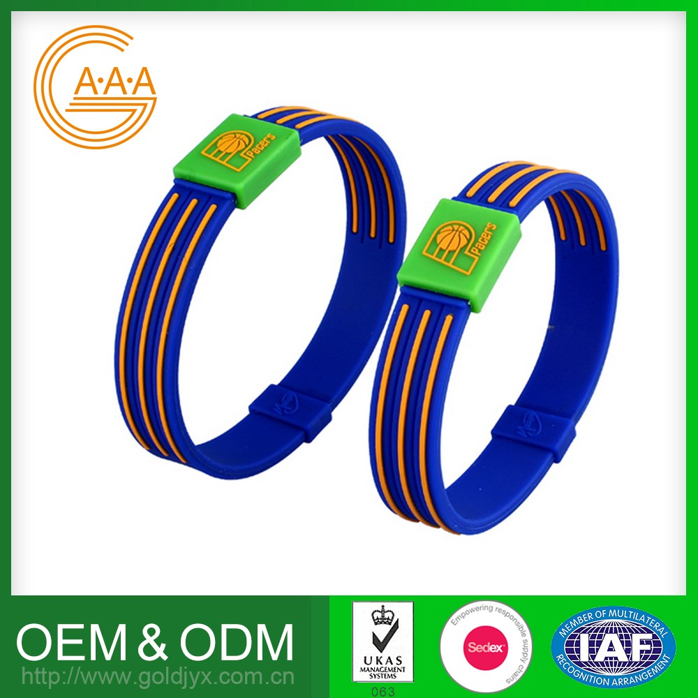 Hot Sell Customized Logo And Color Silicon Bracelet Eco-Friendly Low Price Best Power Energy Bracelet