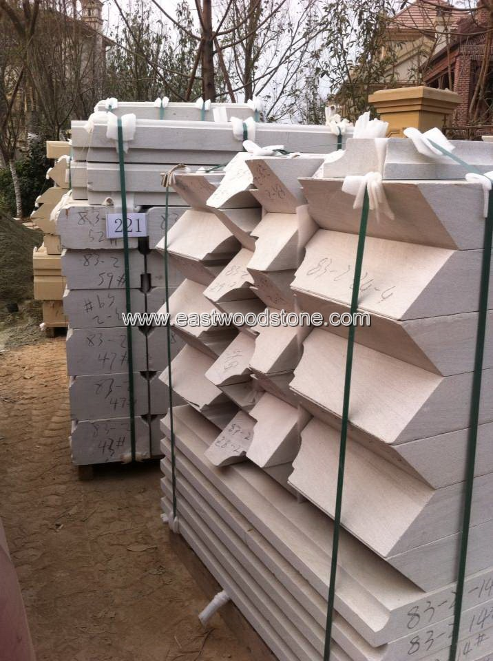 Customized various color sandstone tile