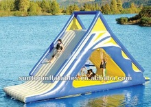hot sales best quality inflatable floating water slide for adult