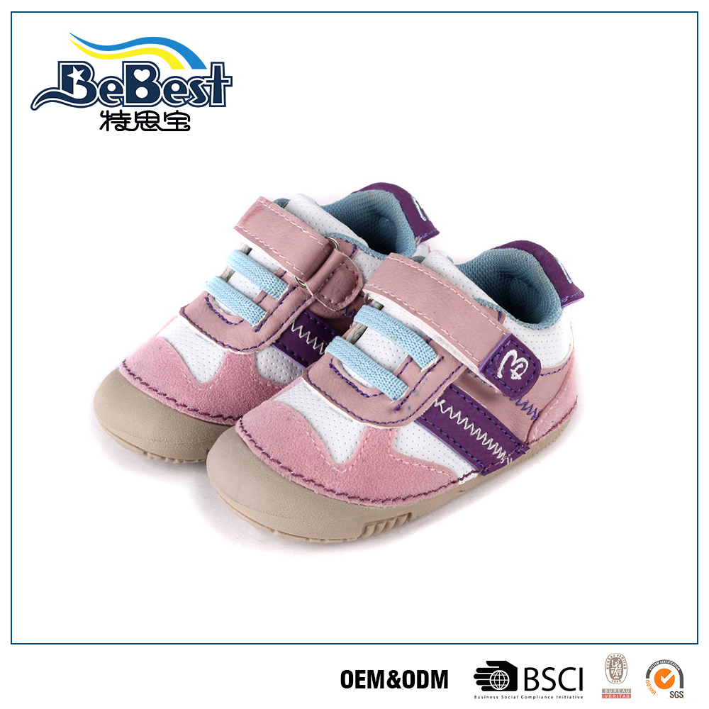 First walker girls safety baby shoes