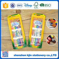 New products 7inch promotional kids colored pencil set and pencil with good smell