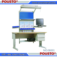 ESD electronic workbench/worktable with functional configuration, factory direct sales