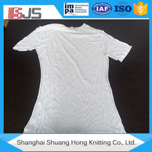 White bale of wiper cotton rags