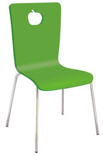 Cheap Hot sales modern plastic Dining chair for canteen and home