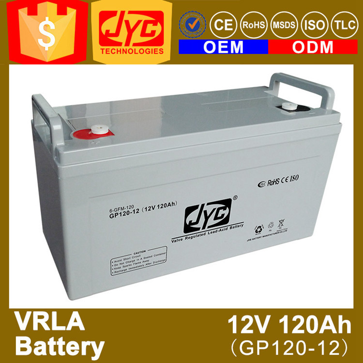 long life 12v 120ah diesel engine starting batteries