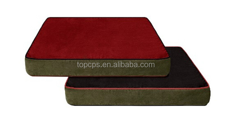Waterproof Square High Quality orthopedic dog beds with memory foam