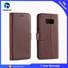 Truelux Cell Phone Case for Samsung Galaxy S6 Leather Flip Case Cover
