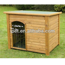 Chinese fir wood dog kennel for large dog DK012M