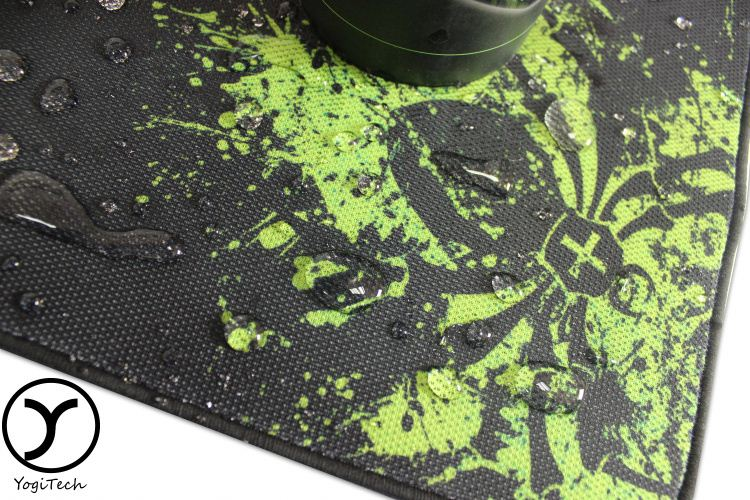 eco wear-resisting natural oem durable Environmental Wrist Rest hemp customized game mouse mat and glove