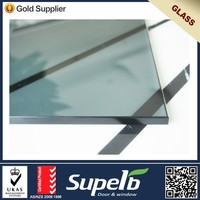 Office Used Tempered 10mm Glass Sheet for Partition