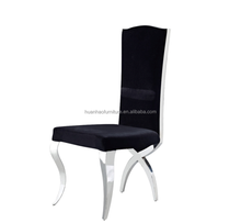 New model competitive price metal frame fabric dining chair Y879