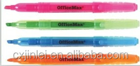 Good quality highlighter pen marker with EN71