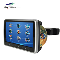 "10.1"" univeral touch screen headrest car DVD with dual stereo speakers"