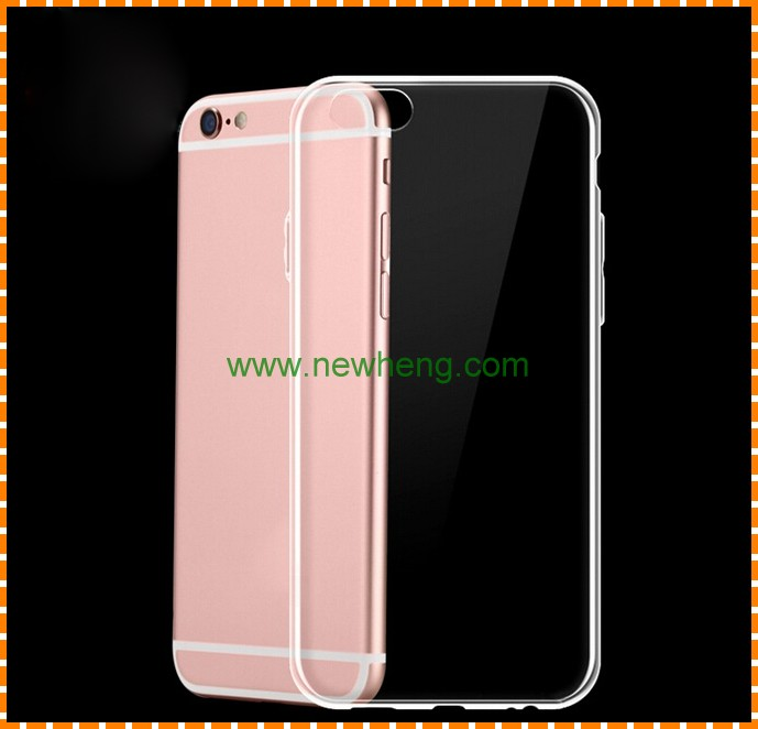 Factory Price TPU Protective Phone Case for iPhone 7 plus Transparent Case