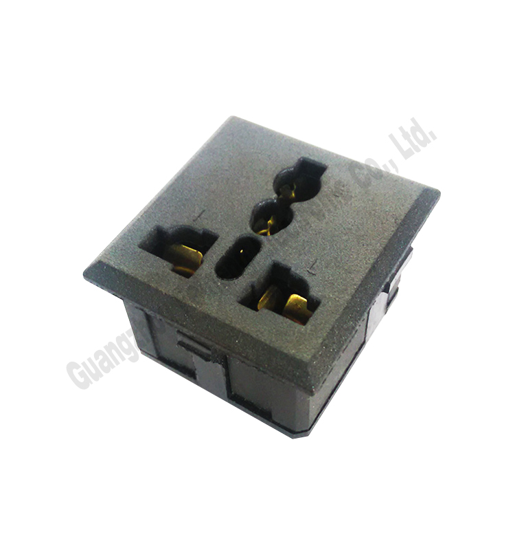 eu to uk power adapter / eu to uk travel plug / female 10a 220v power plug