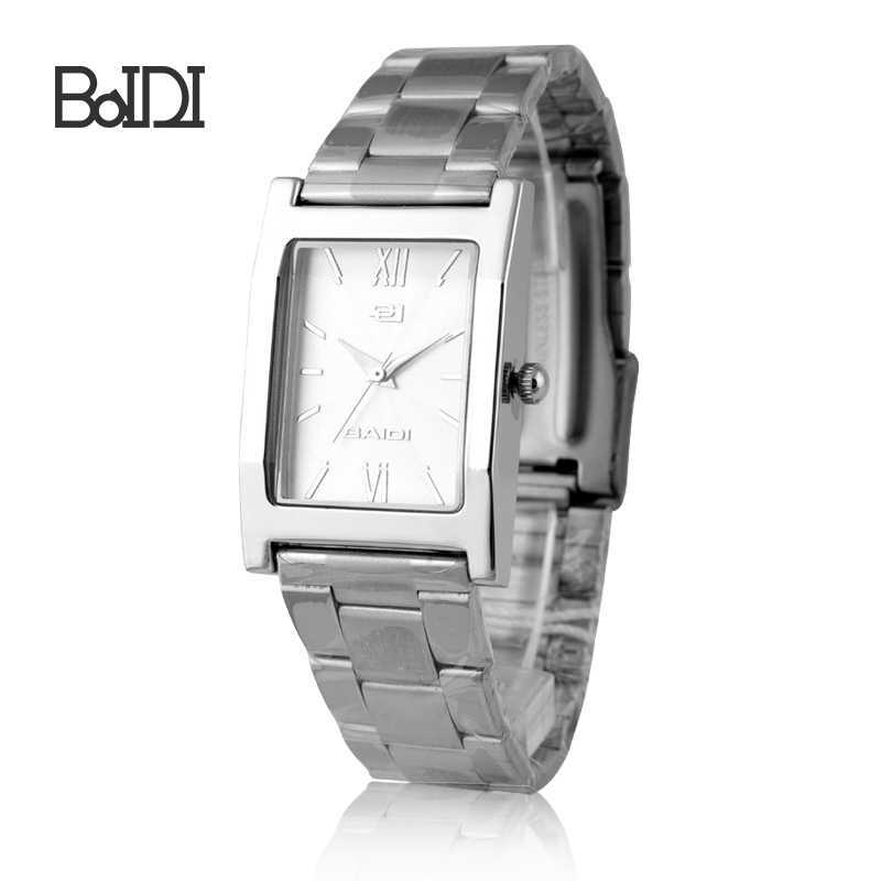 Cheap price baidi best branded stainless steel couple watches