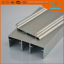 Five Star Quality Silver Commercial customer Aluminum Glass Door Frame