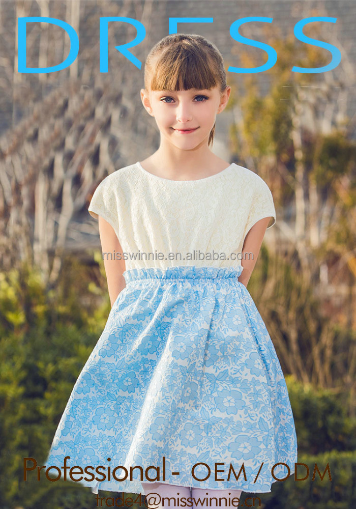 guangzhou custom fashion dresses for 2-8 years girl patterns for girl dresses