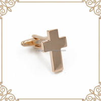 factory wholesale cross arabic cufflinks metal cufflink