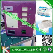 coin tissue dispenser with MDB protocol coins and bills payment device