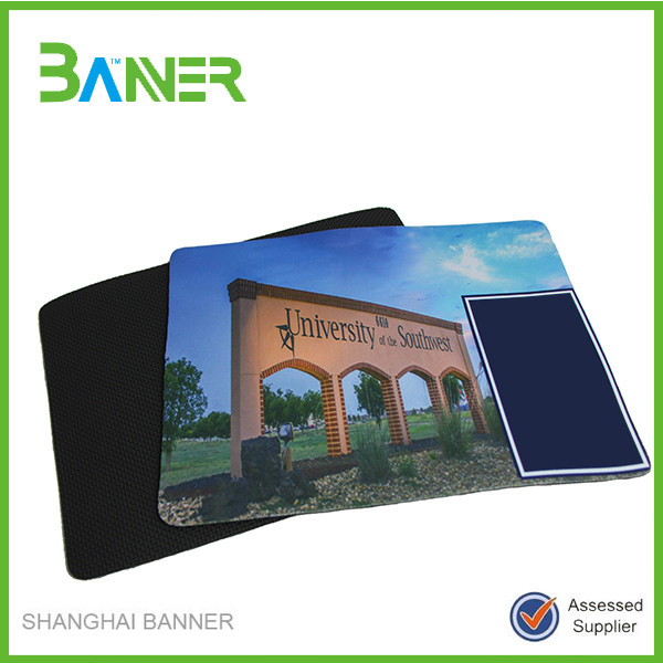 Custom printed promotional gift computer mouse pad
