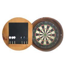 Professional Dartboard With Deluxe Wooden Cabinet Darts wooden dartboard surround