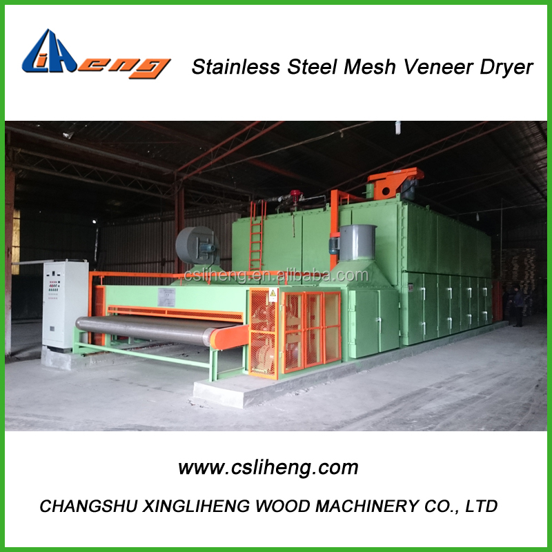 BS100A-4G Single layer Veneer Dryer