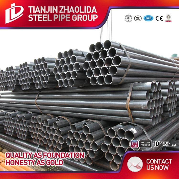 line steel pipe API 5L psl1 b x42 x46 x52 , Black line project pipe , Black ERW pipe for seawater