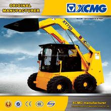 2017 XCMG Cheap Mini Skid Steer Loader with Snow Blower XT750