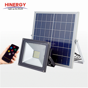 High power IP67 waterproof outdoor 50w solar led flood light price