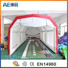 0.65mm PVC inflatable car tent ,outdoor inflatable garage,portable inflatable carport garage